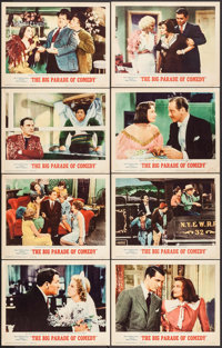 "The Big Parade of Comedy (MGM, 1964). Lobby Card Set of 8 (11"" X 14""). Comedy. ... (Total: 8 Items)"