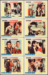 "The Comancheros (20th Century Fox, 1961). Lobby Card Set of 8 (11"" X 14""). Western. ... (Total: 8 Items)"