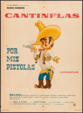 """Movie Posters:Foreign, Por Mis Pistolas (Columbia, 1968). Mexican One Sheet (27"""" X36.75""""). Foreign.. ..."""