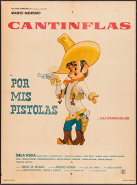 "Por Mis Pistolas (Columbia, 1968). Mexican One Sheet (27"" X 36.75""). Foreign"