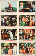 "Movie Posters:Fantasy, The 7 Faces of Dr. Lao (MGM, 1964). Lobby Card Set of 8 (11"" X14""). Fantasy.. ... (Total: 8 Items)"
