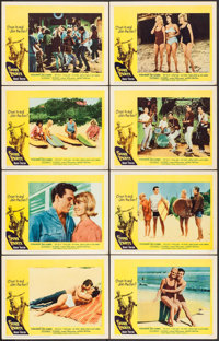 "Surf Party (20th Century Fox, 1964). Lobby Card Set of 8 (11"" X 14""). Rock and Roll. ... (Total: 8 Items)"