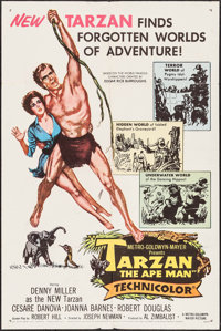 """Tarzan the Ape Man & Other Lot (MGM, 1959). One Sheets (2) (27"""" X 41""""). Adventure. ... (Total: 2 Items..."""