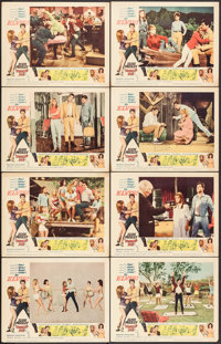 "Tickle Me (Allied Artists, 1965). Lobby Card Set of 8 (11"" X 14""). Elvis Presley. ... (Total: 8 Items)"