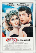 "Movie Posters:Musical, Grease (Paramount, 1978). Lobby Cards (4) (11"" X 14"") & OneSheet (27"" X 41""). Musical.. ... (Total: 5 Items)"