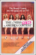 "Movie Posters:Sexploitation, The Miss Nude America Contest & Other Lot (Jerry Gross, 1976).Overall Grade: Fine+. One Sheets (2) (27"" X 41"" & 28"" X41"").... (Total: 2 Items)"