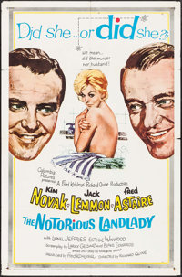 "The Notorious Landlady (Columbia, 1962). One Sheet (27"" X 41""). Comedy"