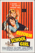 "Movie Posters:Bad Girl, Reform School Girl (American International, 1957). One Sheet (27"" X41""). Bad Girl.. ..."