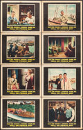 "Movie Posters:Crime, Hell on Frisco Bay (Warner Brothers, 1955). Lobby Card Set of 8(11"" X 14""). Crime.. ... (Total: 8 Items)"