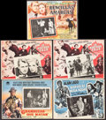 """Movie Posters:Drama, The Great Gatsby & Other Lot (Paramount, 1949). Fine/Very Fine. Mexican Lobby Cards (5) (12.5"""" X 16.5""""). Drama.. ... (Total: 5 Items)"""