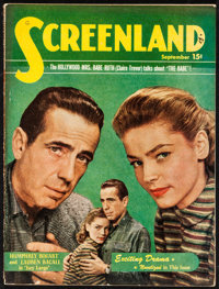 """Screenland (Liberty Magazine, 1948). Magazine (Multiple Pages, 8.5"""" X 11.25""""). Miscellaneous"""