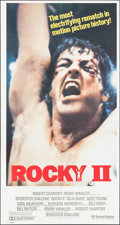 "Movie Posters:Sports, Rocky II (United Artists, 1979). International Three Sheet (41"" X 77""). Sports.. ..."