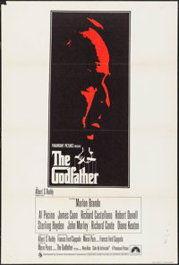 "The Godfather (Paramount, 1972). British One Sheet (27"" X 40""). Crime"