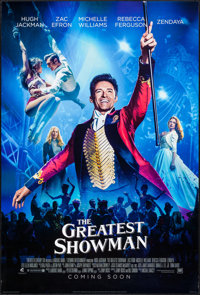 """The Greatest Showman (20th Century Fox, 2017). International One Sheets (2) (27"""" X 41"""") DS Teaser Styles A &am..."""