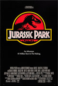 "Movie Posters:Science Fiction, Jurassic Park (Universal, 1993). International One Sheet (26.75"" X39.75"") SS. Science Fiction.. ..."