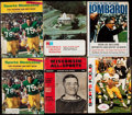 Football Collectibles:Publications, 1960s Green Bay Packers Publication Lot of 6, featuring Vince Lombardi and Bart Starr.. ...