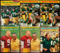 Football Collectibles:Publications, 1960s Green Bay Packers Sports Illustrated Lot of 6, featuring Vince Lombardi and Bart Starr.. ...