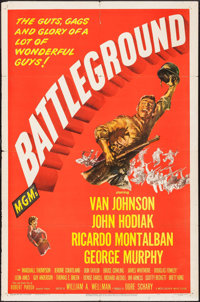 "Battleground (MGM, 1949). One Sheet (27"" X 41""). War"