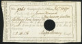 Colonial Notes:Connecticut, State of Connecticut Comptroller's Office £2.14s.1d Feb 22, 1790Very Fine-Extremely Fine.. ...