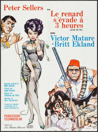 """After the Fox (United Artists, 1968). First Release French Affiche (23"""" X 31.25""""). Comedy"""