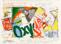 Prints & Multiples, James Rosenquist and Walasse Ting. Oxy, from 1 Cent Life Portfolio, 1964. Lithograph in colors on paper (two sided)...