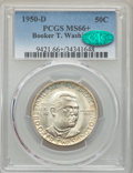 Commemorative Silver, 1950-D 50C Booker T. Washington MS66+ PCGS. CAC. PCGS Population: (271/22 and 30/1+). NGC Census: (132/17 and 4/2+). CDN: $...