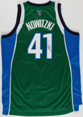 Autographs:Jerseys, Dirk Nowitzki Signed Dallas Mavericks Jersey. . ...