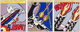 After Roy Lichtenstein As I Opened Fire, triptych, 1966 Offset lithographs in colors on smooth wove paper, with full...