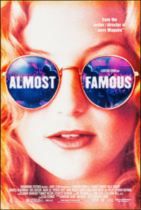 "Almost Famous & Others Lot (DreamWorks, 2000). One Sheets (3) (27"" X 40"") DS. Drama. ... (Total: 3 Ite..."