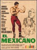"""Movie Posters:Foreign, El Mexicano (Cinematografica Filmex, 1966). Mexican One Sheet (27.25"""" X 37"""") & Mexican Lobby Cards (8) (11"""" X 14""""). Foreign.... (Total: 9 Items)"""