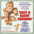 "Movie Posters:War, Cast a Giant Shadow (United Artists, 1966). Six Sheet (79"" X 80""). War.. ..."