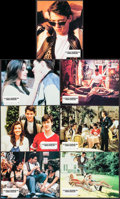 """Movie Posters:Comedy, Ferris Bueller's Day Off (Paramount, 1986). Very Fine. French ColorPhoto Set of 12 (8.5"""" X 10.75""""). Comedy.. ... (..."""