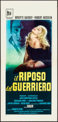 """Movie Posters:Foreign, Love on a Pillow (Incei, 1963). Italian Locandina (13"""" X 28""""). Foreign.. ..."""