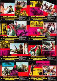 "The Outlaw Josey Wales (PIC, 1976). Italian Photobusta Set of 8 (18"" X 26"". Western. ... (Total: 8 Items)"