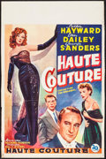"""Movie Posters:Drama, I Can Get It for You Wholesale (20th Century Fox, 1951). Belgian (14"""" X 21.25""""). Drama.. ..."""