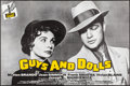"""Movie Posters:Musical, Guys and Dolls (MGM, R-1980s). French Half Grande (31.5"""" X 47"""").Musical.. ..."""