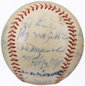 Autographs:Baseballs, 1959 Pittsburgh Pirates Team Signed Baseball (15 Signatures).. ...