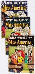 Golden Age (1938-1955):Romance, Miss America Magazine Group of 6 (Atlas, 1953-57) Condition:Average FR/GD.... (Total: 6 Comic Books)