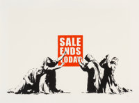 Banksy (b. 1974) Sale Ends, 2006 Screenprint in colors on Arches 88 paper 18-5/8 x 26