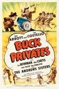 """Movie Posters:Comedy, Buck Privates (Universal, 1941). One Sheet (27"""" X 41"""").. ..."""