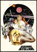 "Movie Posters:Science Fiction, Star Wars by Michelangelo Papuzza (20th Century Fox, 1977).Original Mixed Media Concept Artwork (10"" X 14"").. ..."