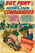 Silver Age (1956-1969):War, Sgt. Fury and His Howling Commandos # 2 et 3 Group (Marvel, 1963).... (Total: 2 Comic Books)