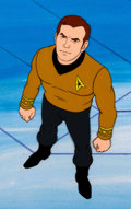 Movie/TV Memorabilia:Original Art, Star Trek: The Animated Series Captain Kirk Production Cel(Filmation, 1974). ...