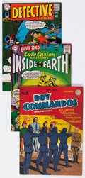 Golden Age (1938-1955):Miscellaneous, DC Golden to Silver Age Comics Group of 4 (DC, 1948-67) Condition: Average FN.... (Total: 4 Comic Books)