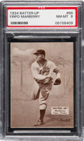 Baseball Cards:Singles (1930-1939), 1934-36 Batter-Up Firpo Marberry #66 PSA NM-MT 8 - None Hi...