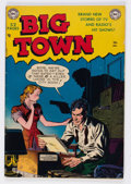 Golden Age (1938-1955):Crime, Big Town #1 (DC, 1951) Condition: VG/FN....