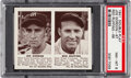 Baseball Cards:Singles (1940-1949), 1941 Double Play Gordon/Ruffing #67/68 PSA NM-MT 8 - Only One Higher. ...