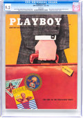 Magazines:Vintage, Playboy V3#7 (HMH Publishing, 1956) CGC NM- 9.2 White pages....