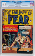 Golden Age (1938-1955):Horror, Haunt of Fear #16 (#2) (EC, 1950) CGC FN+ 6.5 Off-white to whitepages....