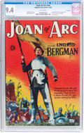 Golden Age (1938-1955):Non-Fiction, Joan of Arc #nn Vancouver Pedigree (Magazine Enterprises, 1949) CGCNM 9.4 White pages....